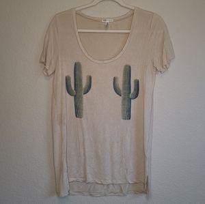 4/$25 Pink VS Super Soft Cactus Graphic T Shirt